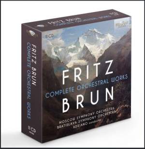 Fritz Brun: Complete Orchestral Works Product Image