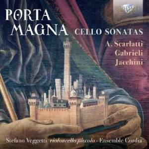 Porta Magna: Baroque Cello Sonatas