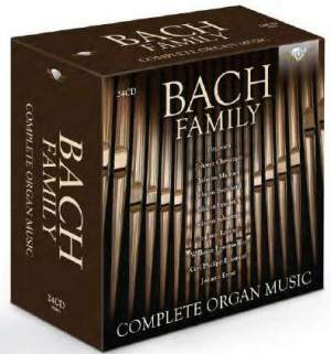 Bach Family: Complete Organ Music