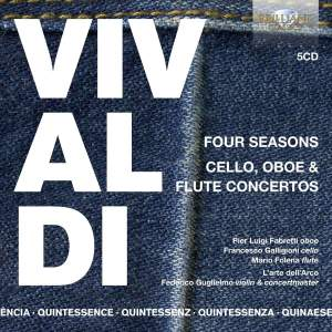 Vivaldi: Four Seasons and Cello, Oboe & Flute Concertos