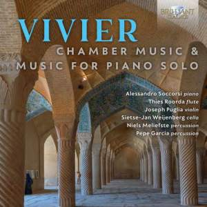 Vivier: Chamber Music & Music for Piano Solo Product Image