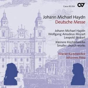 Mozart, Leopold Mozart & Michael Haydn: Sacred Works