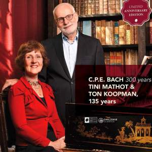 CPE Bach: Fantasia & 6 Organ Sonatas