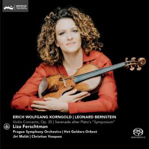 Korngold: Violin Concerto and Bernstein: Serenade Product Image