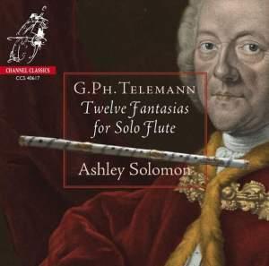 Telemann: Twelve Fantastias for Solo Flute Product Image