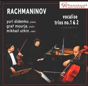 Rachmaninov: Trios élégiaques