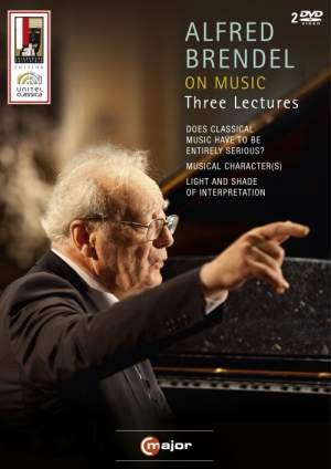 Alfred Brendel On Music - Three Lectures
