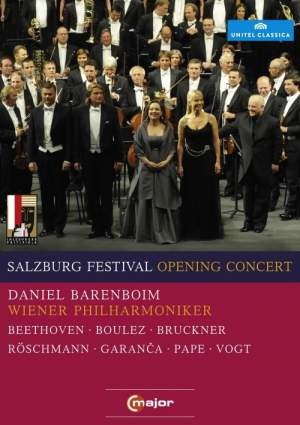 Salzburg Festival Opening Concert 2010 Product Image