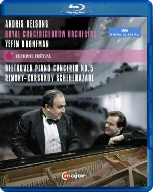 Andris Nelsons, Royal Concertgebouw Orchestra and Yefim Bronfman at the Lucerne Festival, 5th September 2011 Product Image