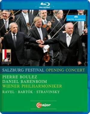 Salzburg Opening Concert 2008 with Boulez & Barenboim