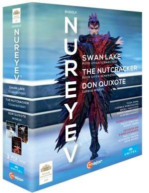 Rudolf Nureyev: Swan Lake&#x3B; The Nutcracker&#x3B; Don Quixote