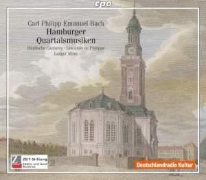 C P E Bach: Hamburger Quartalsmusiken