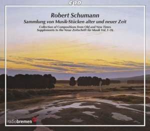 Schumann: Sammlung von Musik-Stücken alter und neuer Zeit