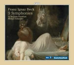 Franz Ignaz Beck: 9 Symphonies