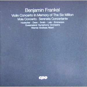 Frankel: Violin and Viola Concertos