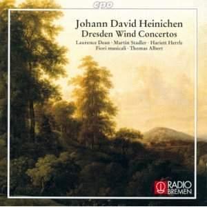 Johann David Heinichen: Dresden Wind Concertos