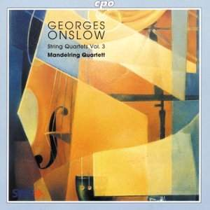 Georges Onslow: String Quartets Vol. 3