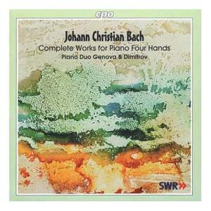 Johann Christian Bach: Complete Works for Piano Four Hands