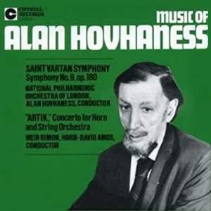 Hovhaness: Symphony No. 9 'Saint Vartan' & Artik