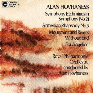 Hovhaness: Symphony No. 21 & other orchestral works