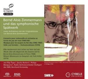 Bernd Alois Zimmermann: Late Symphonic Works Product Image