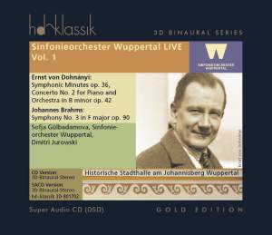 Sinfonieorchester Wuppertal Live Volume 1 Product Image