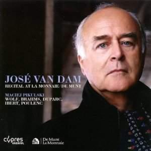 José van Dam: Recital at La Monnaie de Munt