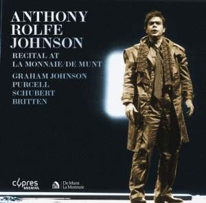 Anthony Rolfe Johnson Recital at La Monnaie