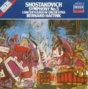 Shostakovich: Symphony No. 5 in D minor, Op. 47