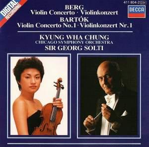 Berg & Bartók: Violin Concertos