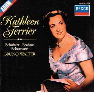 Kathleen Ferrier: BBC Broadcast from the Edinburgh Festival, 1949