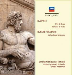 Respighi - Pines of Rome & Fountains of Rome