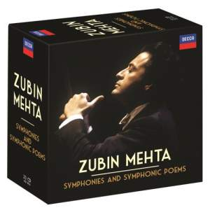 Zubin Mehta conducts Symphonies & Symphonic Poems Product Image