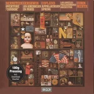 Mehta Conducts Bernstein, Gershwin & Copland - Vinyl Edition
