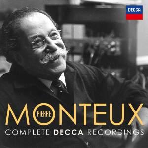 Pierre Monteux - Complete Decca Recordings Product Image