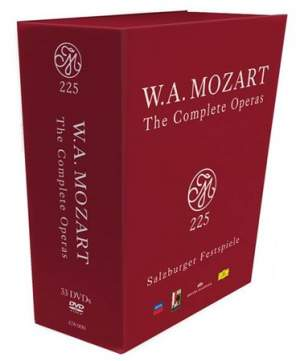 Mozart 225: The Complete Operas on DVD