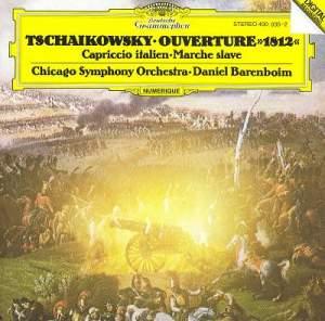 Tchaikovsky: 1812 Overture, Capriccio Italien & Marche Slave