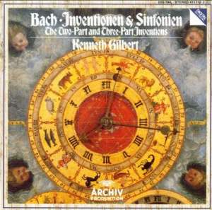 JS Bach: The Two-Part and Three-Part Inventions