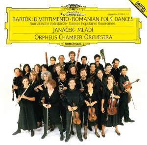 Bartok: Divertimento & Romanian Folk Dances and Janacek: Mladi