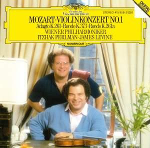 Mozart: Violin Concerto No. 1, Adagio and 2 Rondos