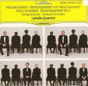 Gielen & Schnabel: String Quartets