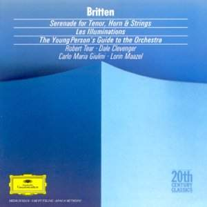 Britten: Serenade, Young Person's Guide & Les Illuminations
