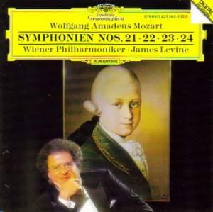 Mozart: Symphonies Nos. 21 - 24