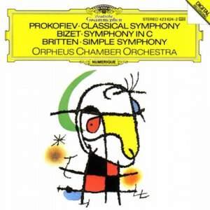 Prokofiev, Britten & Bizet: Symphonies