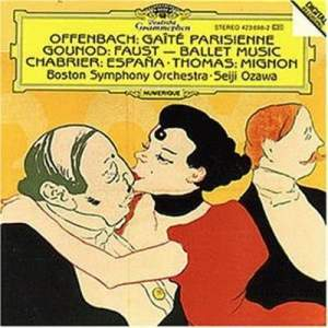 Offenbach, Gounod, Chabrier, Thomas: Orchestral Works