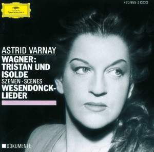 Wagner: Scenes from Tristan und Isolde & Wesendonck Lieder
