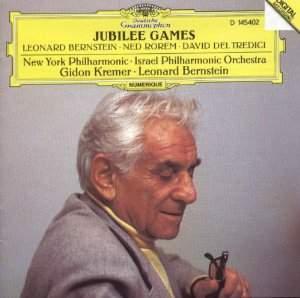 Bernstein conducts Bernstein, del Tredici & Rorem
