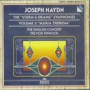 Haydn: The 'Sturm und Drang' Symphonies Vol. 3