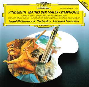 Hindemith: Mathis der Maler & other orchestral works