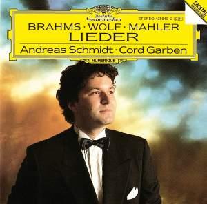 Brahms, Wolf & Mahler: Lieder